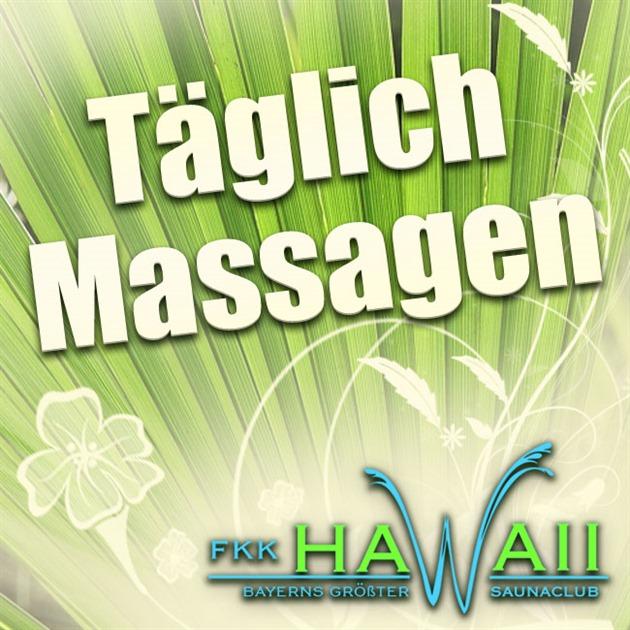 Täglich Massagen