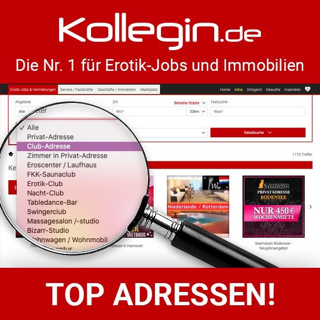 Erotik-Jobs & Immobilien, Kollegin.de