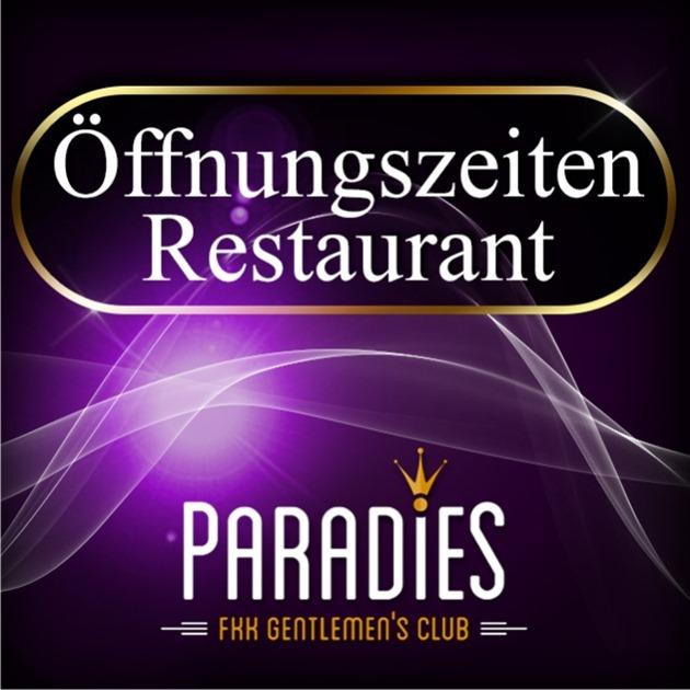Öffnungszeiten Restaurant