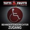 Behindertengerechter Zugang  im Tutti-Frutti Saunaclub