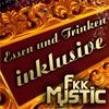 Essen und Trinken inklusive  im FKK Mystic