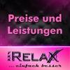 Preise und Leistungen  im Relax FKK-Club