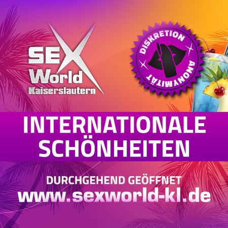 Sex World  wieder geöffnet, Kaiserslautern